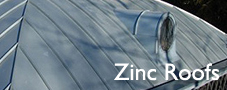 copper zinc Roof